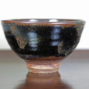 Black Ido-Style Matcha Bowl