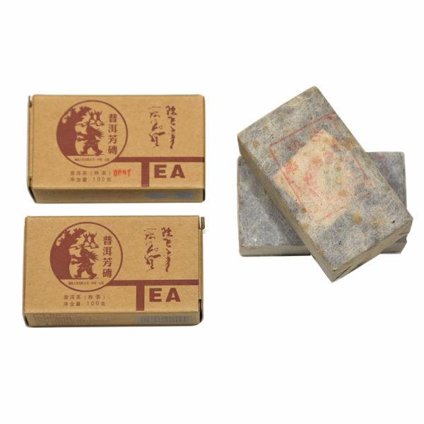 Langang Fang Zhuan shou pu-erh brick