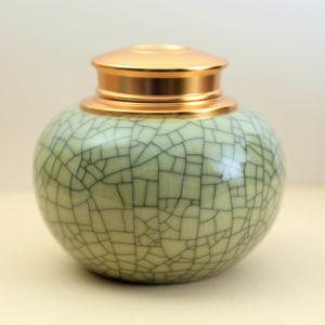 Longquan Celadon Tea Storage Container