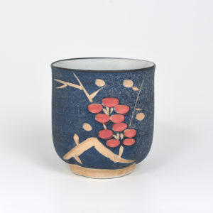 Carved Plum Blossoms Teacup