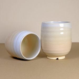 Pale Peach Tones Teacups