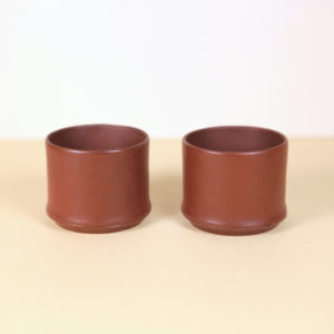 Small Chinese Yixing Teacups - set of 2
