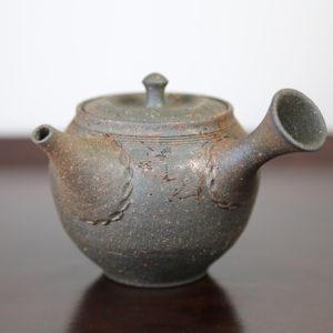 Tokoname Mogake Jin Teapot
