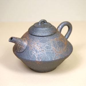 Tokoname Yohen Mogake Modernist 'Charred' Teapot